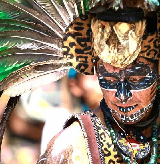 Concheros danza azteca