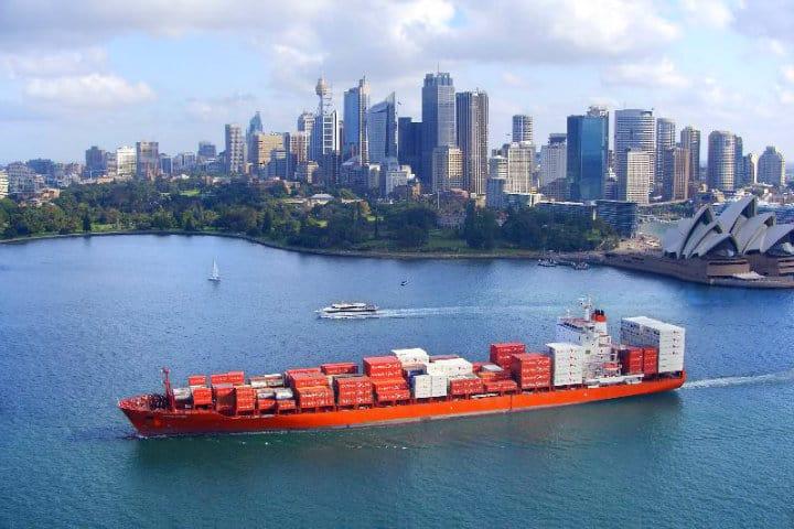 Viaje barco cargo. Foto: Archivo