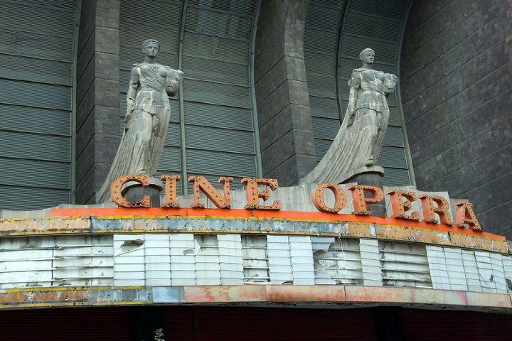 Arch-daily México Foto: Cine Opera