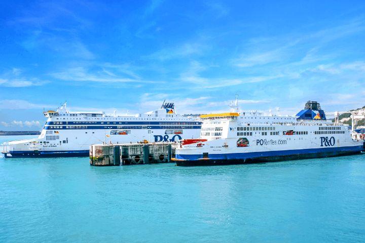 Container Management Foto:Canal de la Mancha por ferry