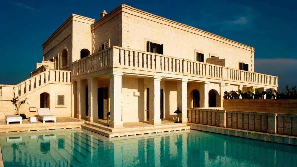 El hotel más lujoso del mundo, el Borgo Egnazia en Italia. Portada. Imagen. Archivo