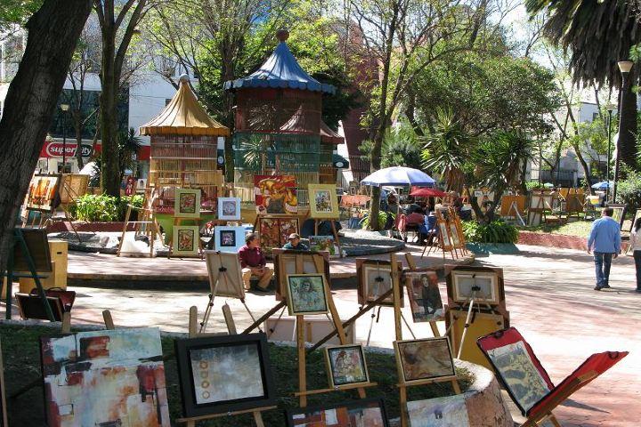 MXCity Foto: Jardin del Arte
