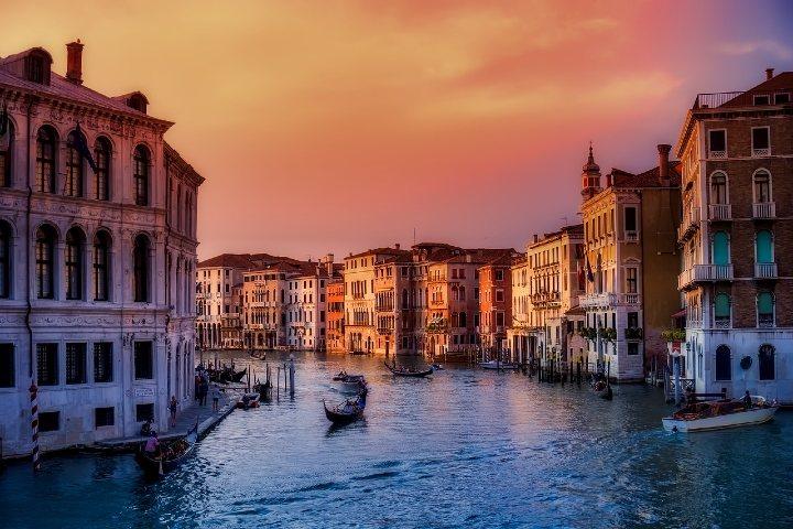 Los canales de Venecia. Foto: 12019