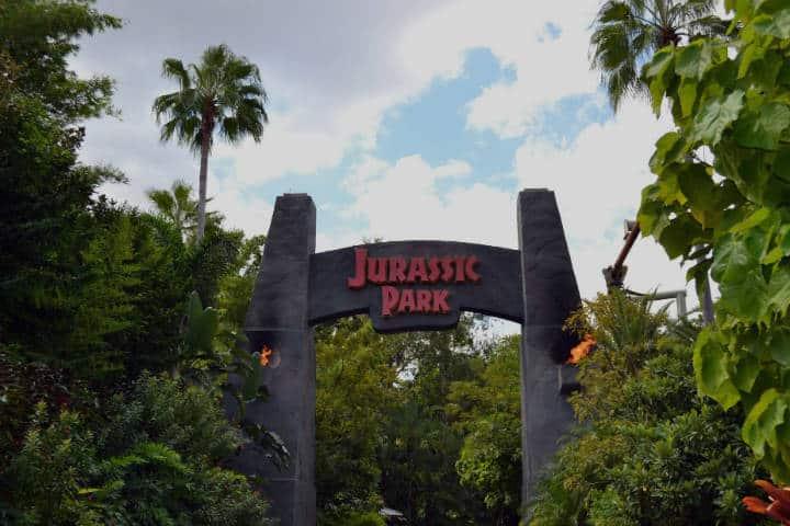 Mundo de Jurassic Park en Universa Studios. Foto: Dave Harwood