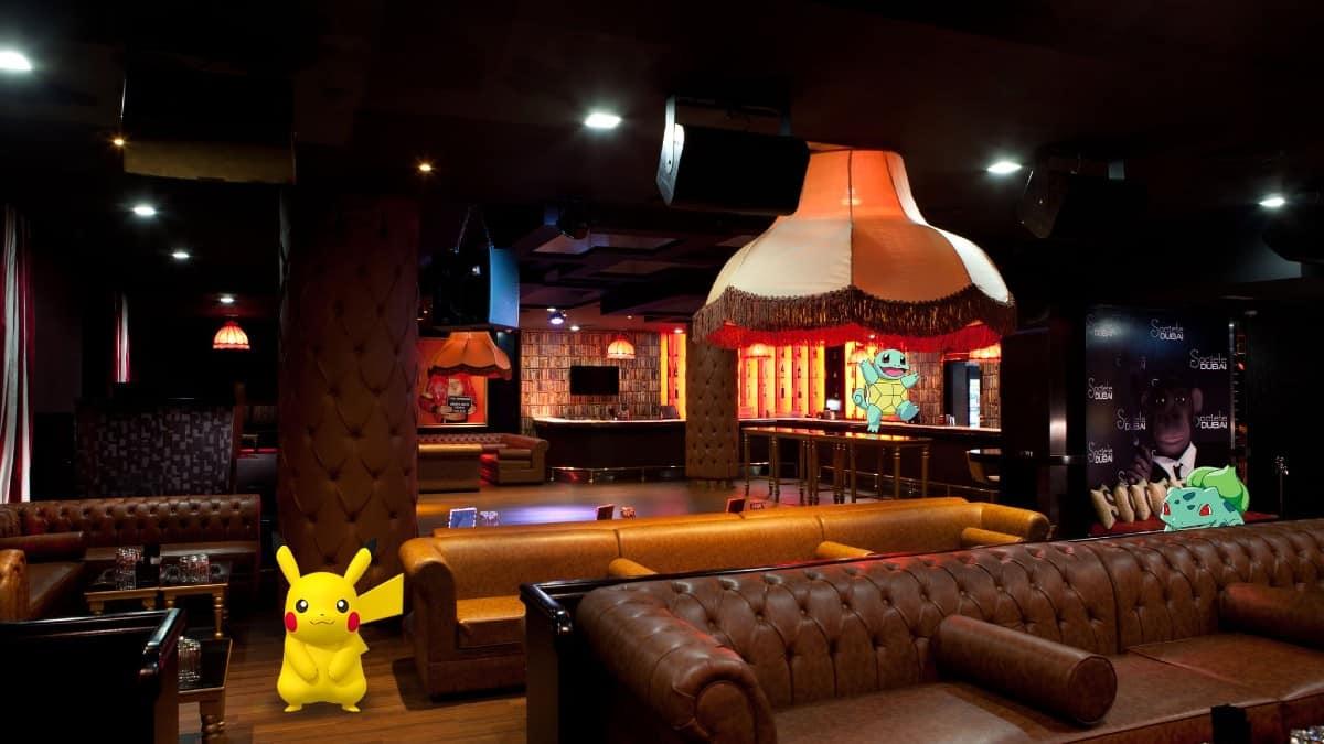 Pokemon go. Hoteles