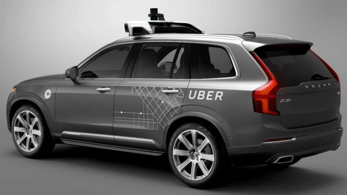 Uber sin conducto. Foto Archivo.