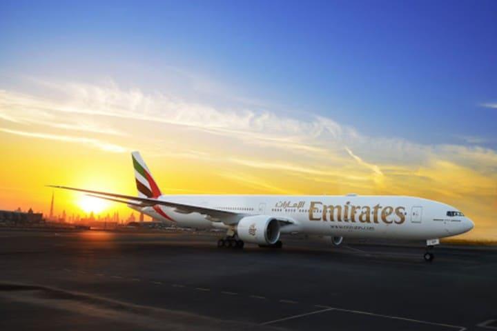 Vídeo avión Emirates incendiandose. Foto: hispaviacion.es