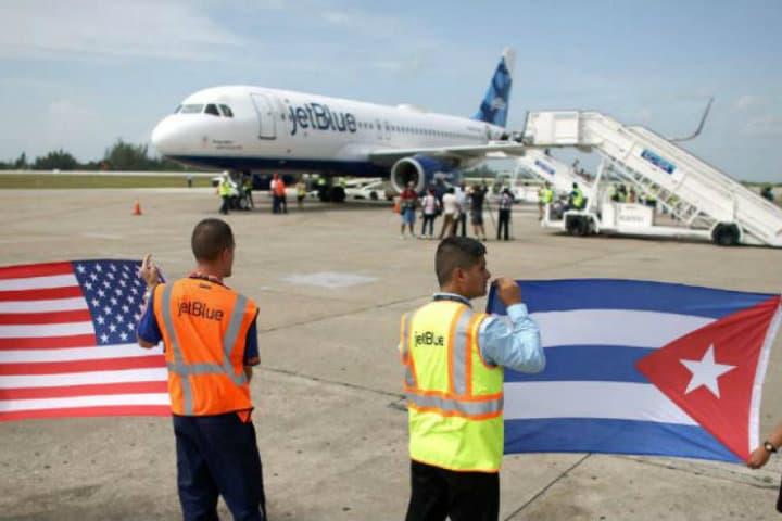 Vuelos comerciales entre USA y Cuba.Foto.El Diario 24