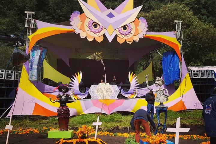 Festival Xibalba en Morelos