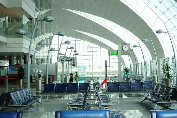Aeropuerto de Dubái. Foto Pixabay.
