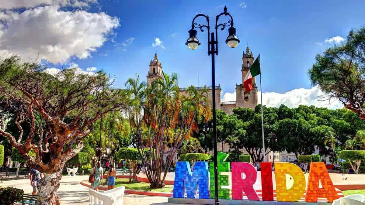 Centro de Mérida FOTO: El Financiero