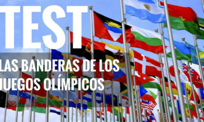 Test banderas de los juegos olimpicos. Foto archivo