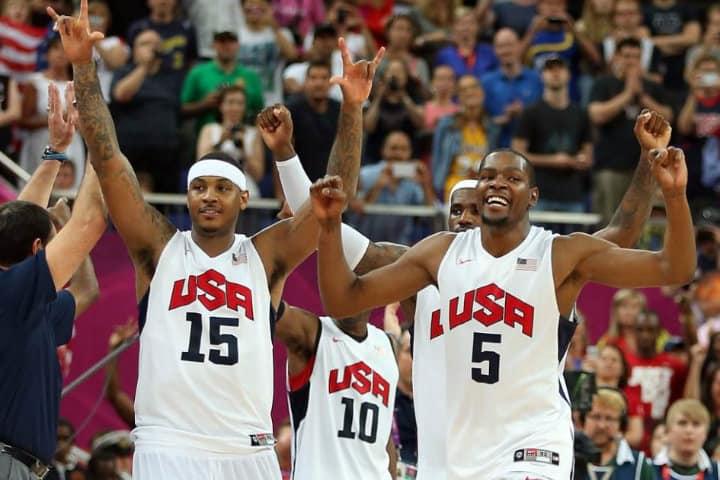 usa basquetball team