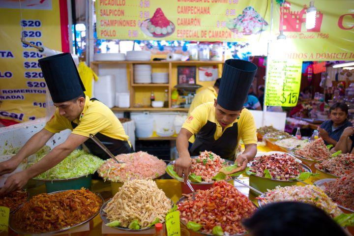 A Life Worth Eating Foto: tostadas coyoacán