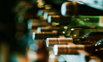 Botellas de vino. Foto: Hernes Rivera