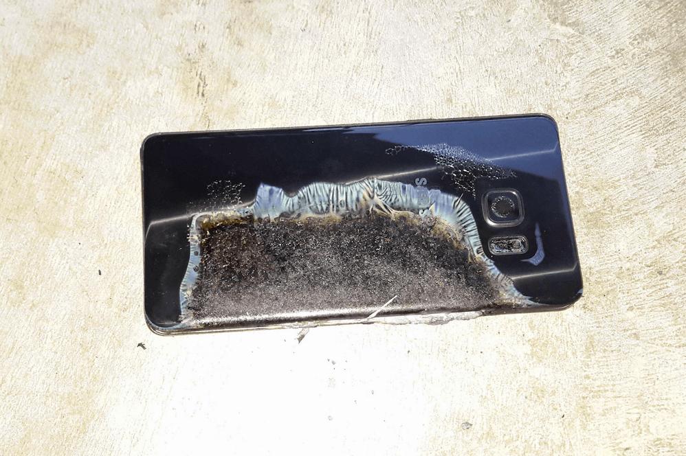 problema con Galaxy Note 7 en los aviones