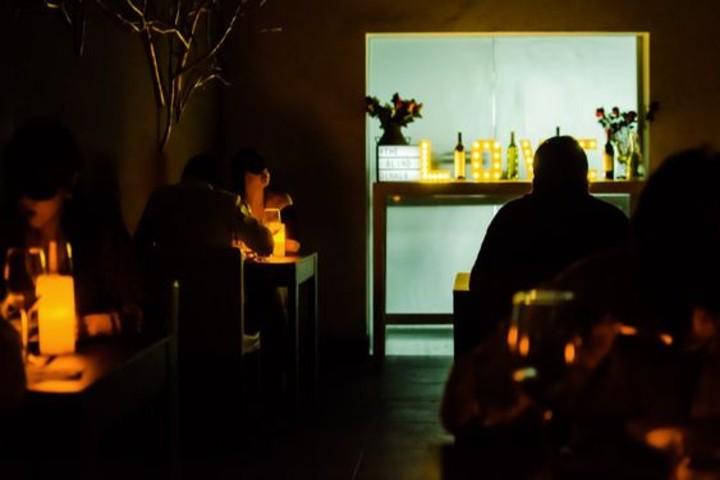Cena a ciegas con Club Premier. Foto Food and Pleasure.