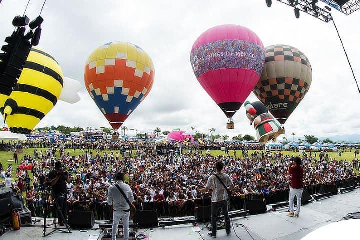 Festival Nacional del Globo y Música en Morelos