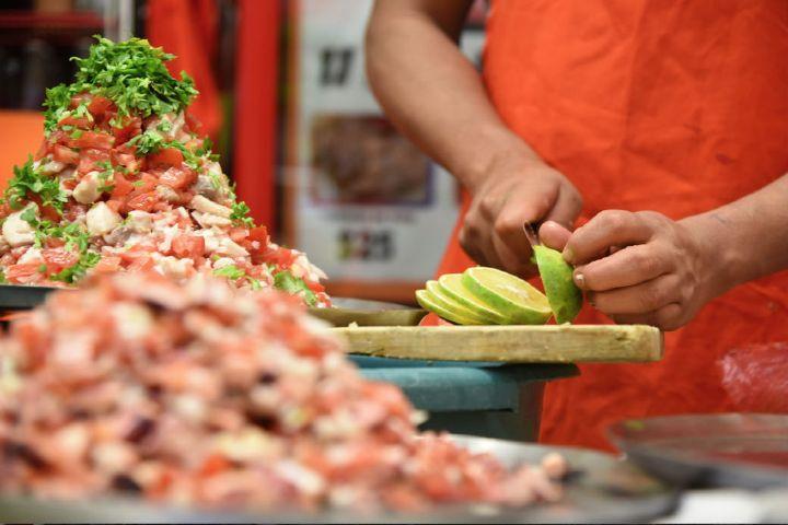 Gourmet de México Foto: tostadas coyoacán