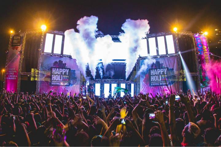 Grandes conciertos y el mejor ambiente Foto Hapy Holi Portugal – O Festival das Cores