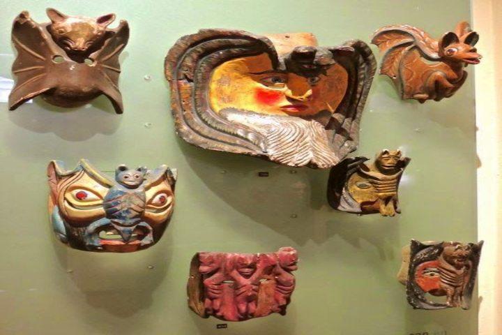 Museo nacional de la máscara. Foto Cookjmex.