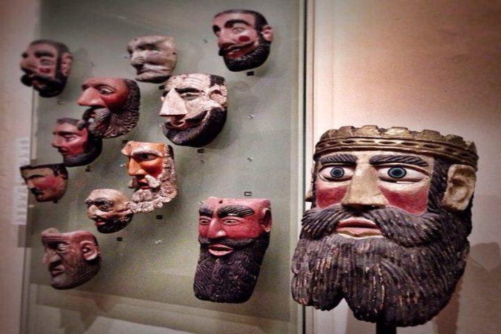 Museo nacional de la máscara. Foto Ophelia.