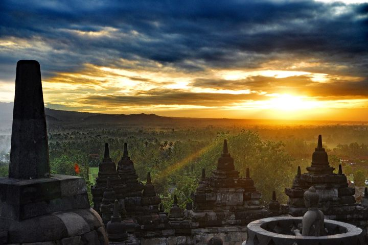 Qué hacer en Borobudur Indonesia. Foto Geoffery iG V.