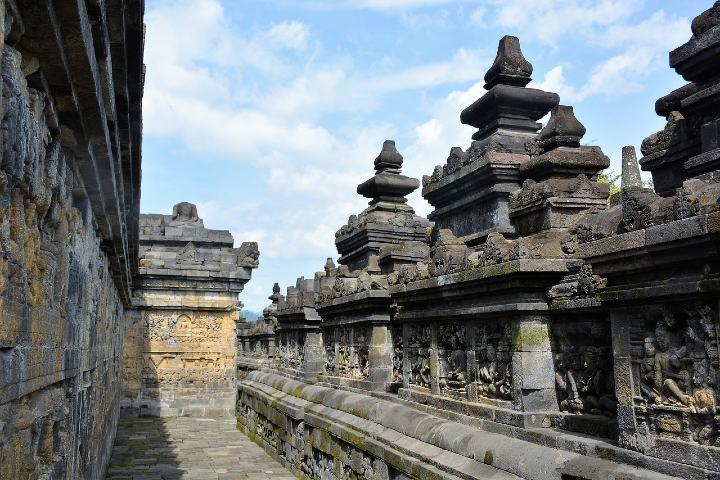 Qué hacer en Borobudur Indonesia. Foto Marjo Groenewegen