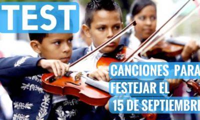 Test Canciones para festejar el 15 de septiembre. Foto Archivo