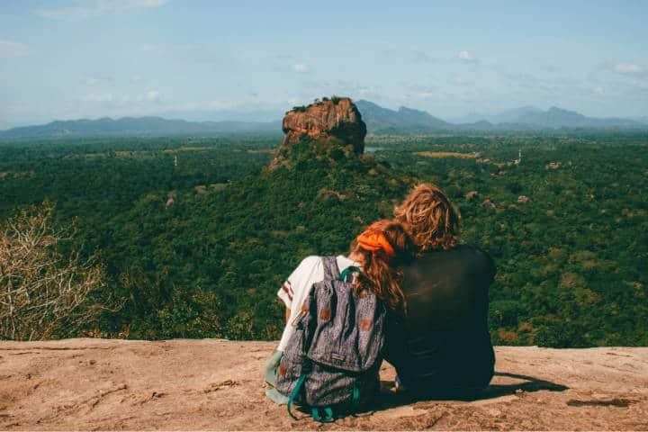 Viaje en pareja. Foto: Louise Burton