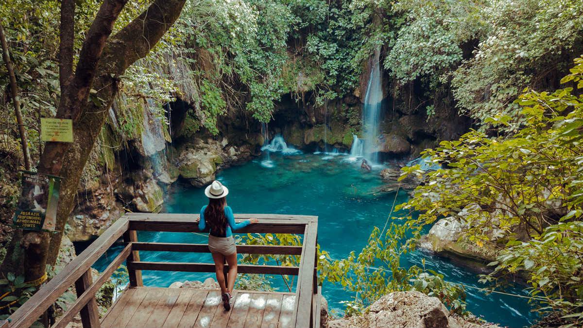 Fotos de las cascadas de San Luis Potosí en Instagram. Foto por San Luis Potosí.