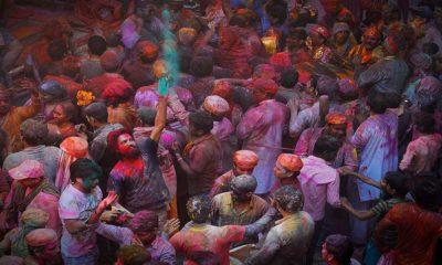 Festival Happy Holi en Portugal Foto Happy Holi Portugal. Foto. Vichaya Chatikavanji