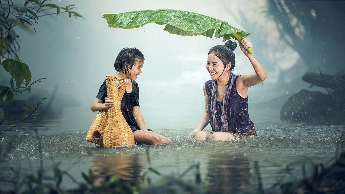 Portada lluvia. Foto. Sasin Tipchai