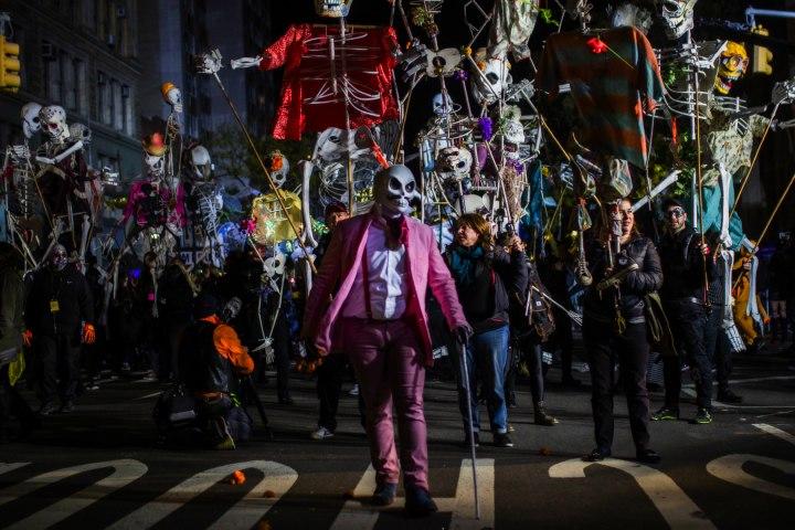 Desfile de Halloween en Nueva York