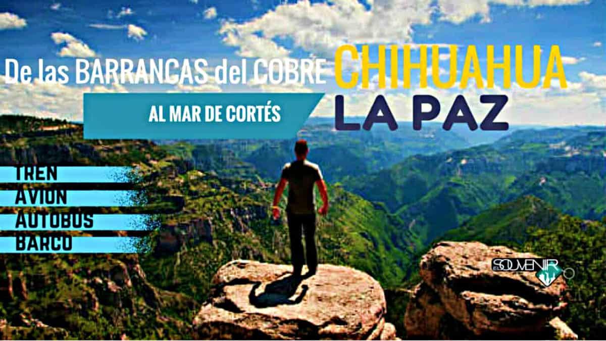 Excursión Chihuahua Sinaloa La Paz Foto Archivo