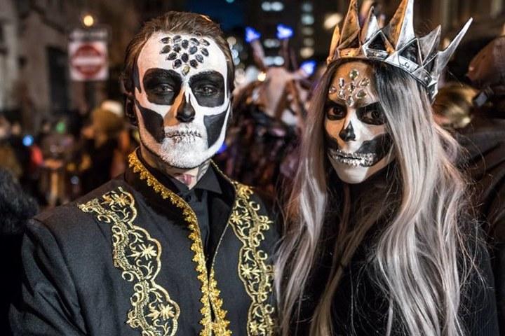 Foto New York's Village Halloween Parade Foto Enrique Shore.