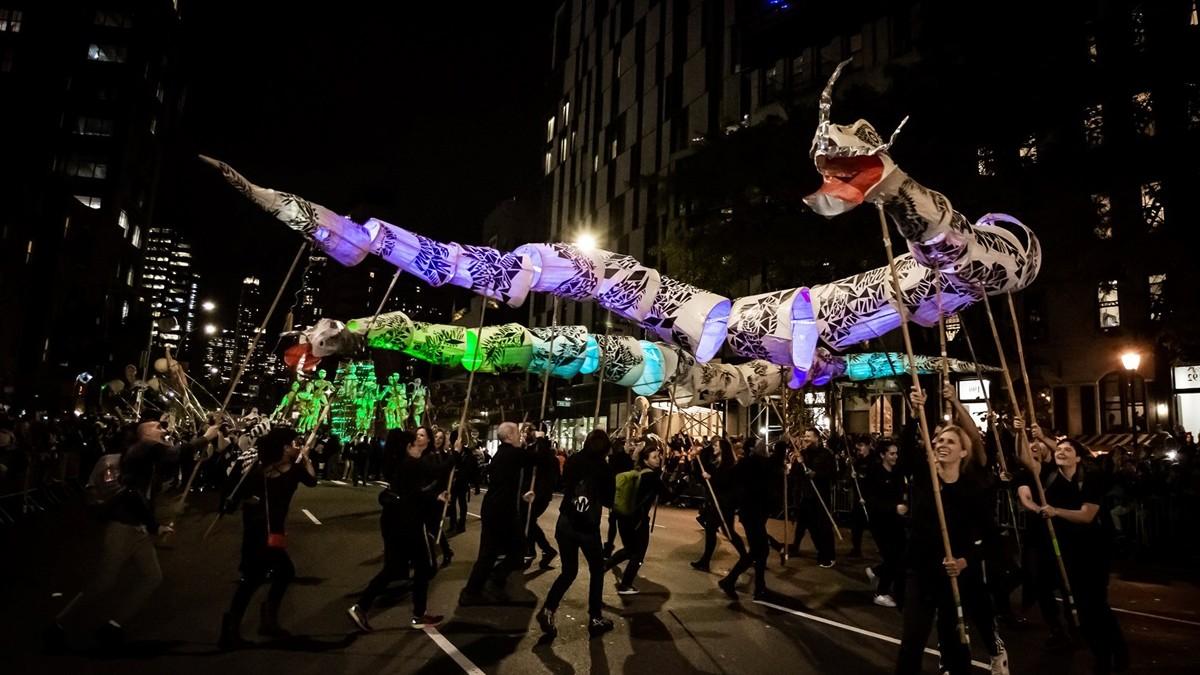 Foto New York's Village Halloween Parade PORTADA.