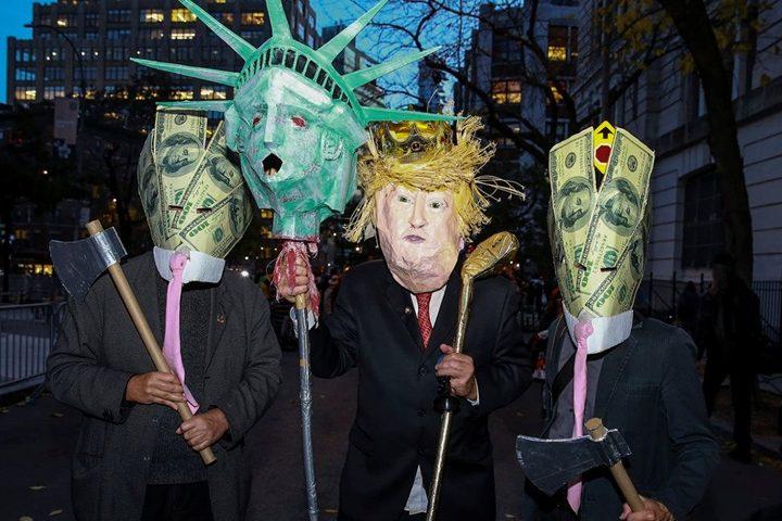 New York's Village Halloween Parade 2016 Foto YNYS.
