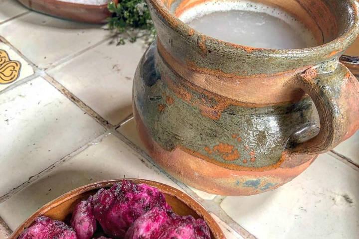 Pulque y Xoconostle Aculco. Foto: Miguel Conde