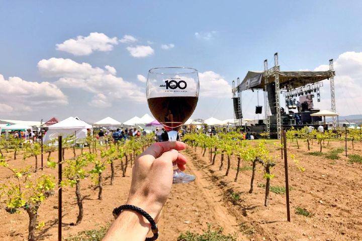 Queretanizate Foto: festival 100 vinos mexicanos en Puebla