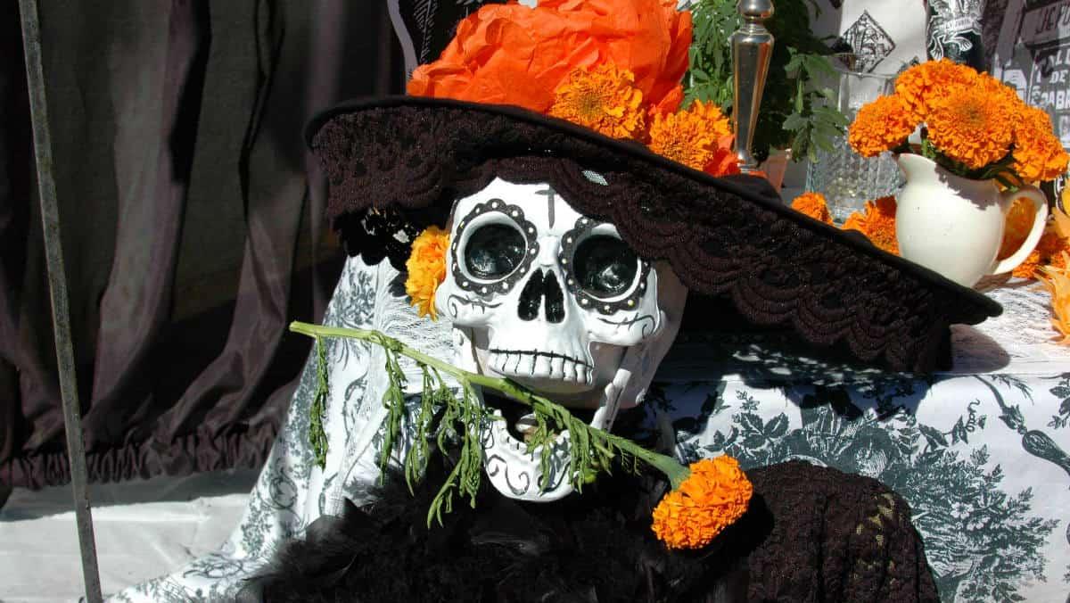 Test del Día de Muertos Foto Martha Jiménez