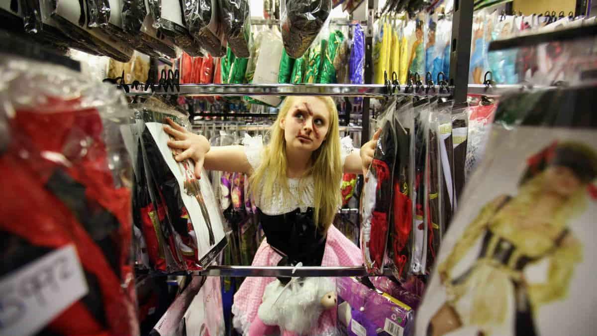 Tienda de disfraces en la CDMX Foto Archivo