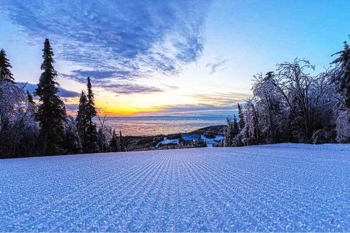 Un paraíso de nieve Foto Zone Ski