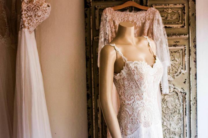 Vestido de novia. Foto: Charisse Kenion