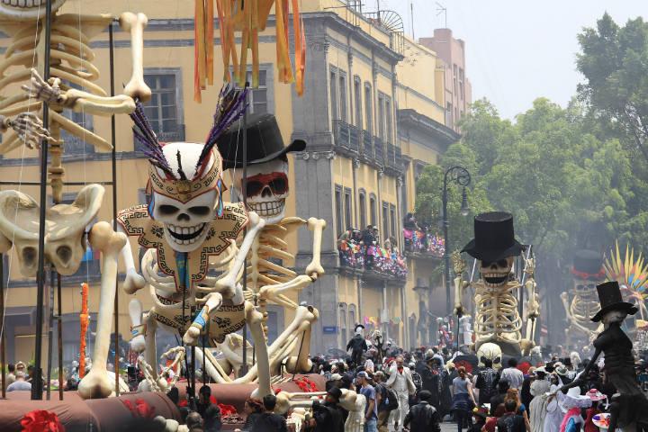 desfile de dia de muertos