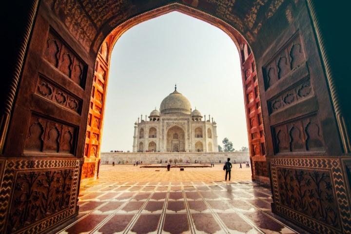 mejores fotos del Taj Mahal en Instagram