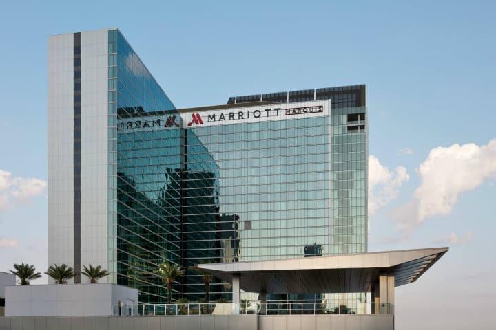 Aparte complementará su fachada elegante Foto Marriott Marquis Houston