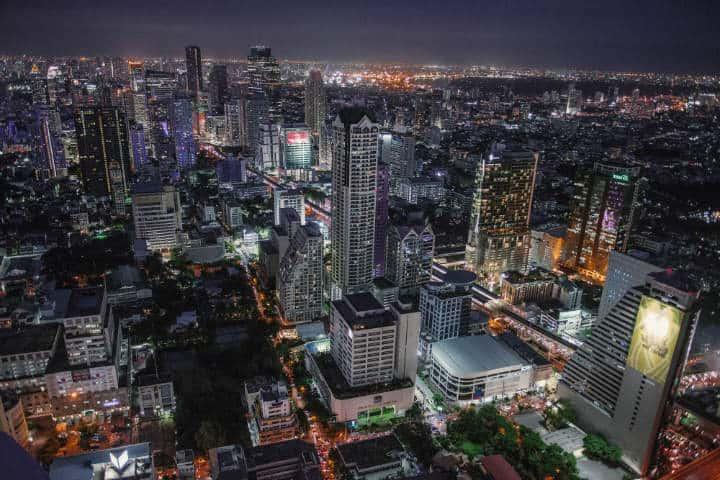 Bangkok habría tenido un centro comercial impresionante Foto Paul Szewczyk