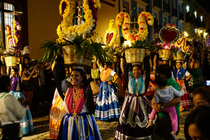Feria Comarcal de Servicios Turísticos en Oaxaca Foto por Héctor Ferreiro