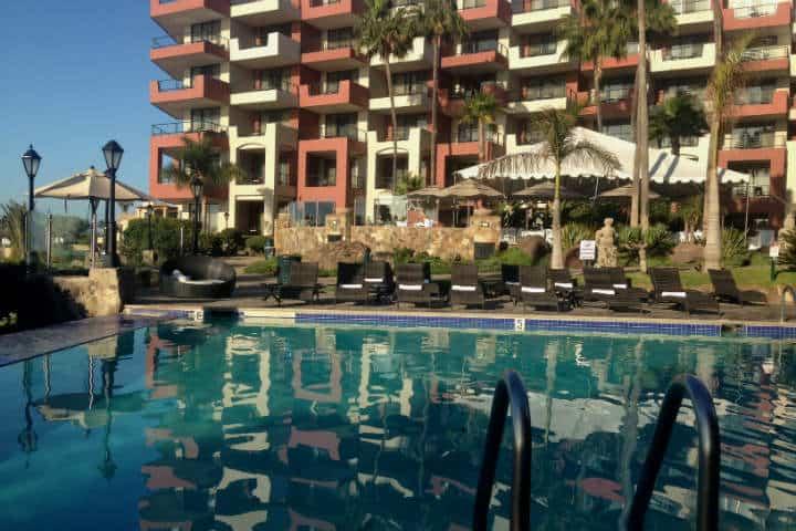 El hermoso hotel Coral & Marina Ensenada Foto Archivo